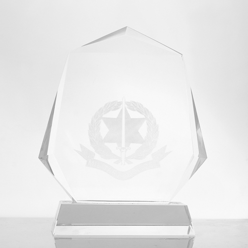 Metal badge trophies-crystal-Trophy