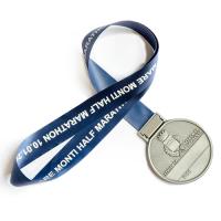 Metal Badge Medal Ribbons-Heat Slit Satin Ribbon