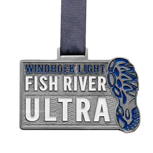 Metal-Badge-and-Button-Prestige-Medals-Fish-River-Ultra 2017 medal