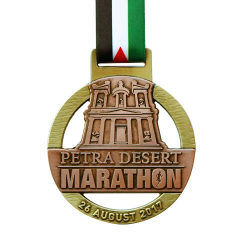 Metal-Badge-and-Button-Prestige-Medals-Petra-Desert-Marathon