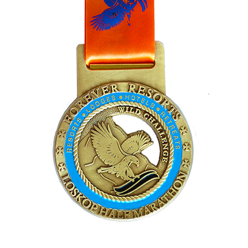 Metal-Badge-and-Button-Prestige-medals-Loskop half marathon