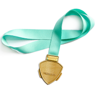 Metal Badge Medal Ribbons-Petersham Ribbon