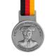metal badge prestige custom made medals-berlin marathon 2014 medal