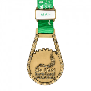 metal badge prestige custom made medals-abu dhabi