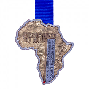 metal badge prestige custom made medals-cape town 2014 medal