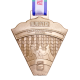 metal badge custom made medal-runczech 2015 medal