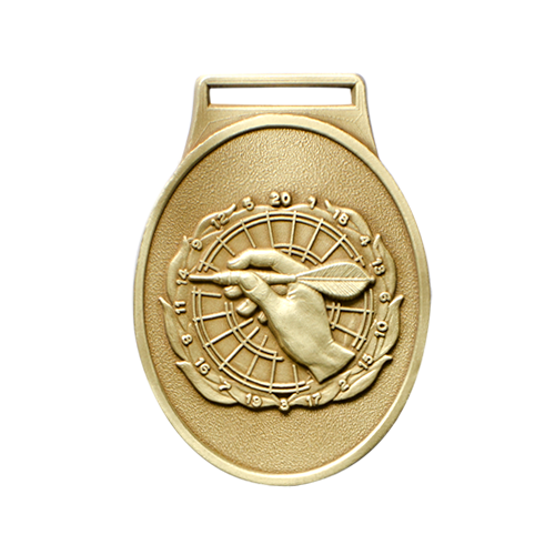 metal badge standard stock medal