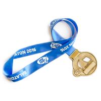 Metal Badge Medal Ribbons-Trilobal Silk Ribbon