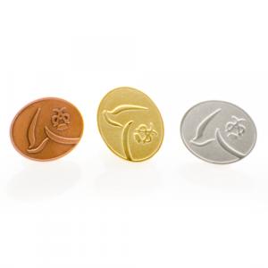 metal badge-coins