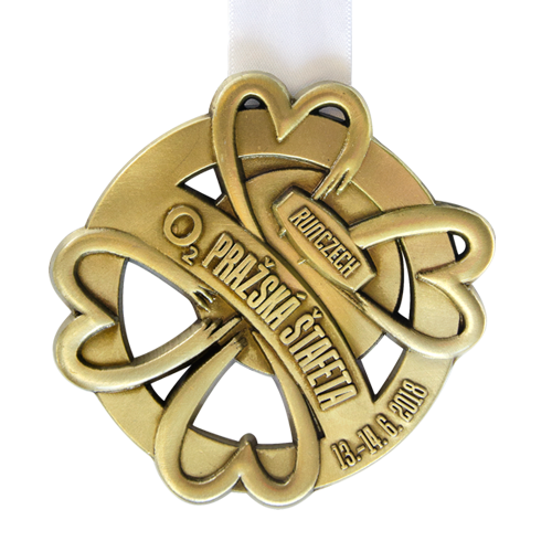 Metal Badge custom made medals-runczech 2018 medal