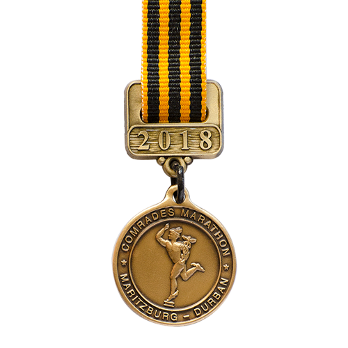 Metal Badge custom made medals-comrades marathon medal