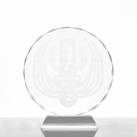Metal badge trophies-crystal-Trophy