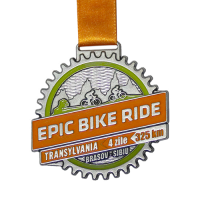 Metal-Badge-and-Button-prestige-medals-Epic-Bike-ride