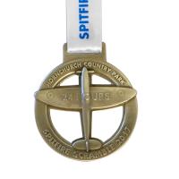 Metal-Badge-and-Button-prestige-medals-Spitfire-Scramble 2017 medal