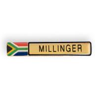 metal badge-nameplate