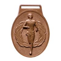 metal badge standard stock medal