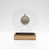 metal badge trophies