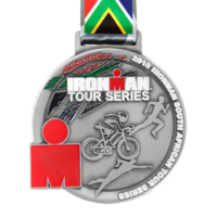 Metal Badge custom made medals-ironman south africa 2018 medal