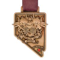Metal Badge custom made medals-police & fire games, las vegas medal