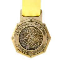 Metal Badge custom made medals-st francois de sales medal