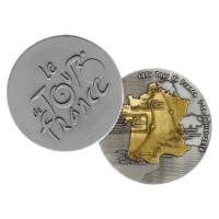 Metal Badge custom made medals-tour de france 2018 medal