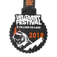 Metal Badge custom made medals-velovert festival 2018