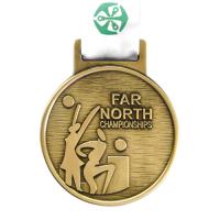 Metal Badge custom made medals-far north championships medal