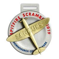1000km-Medals-Custom-Made-Medal-Spitfire-Scramble-2019